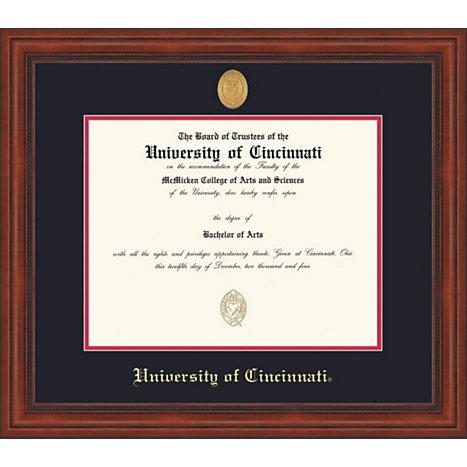 University Of Cincinnati Millenium Law/MD Diploma Frame -ONLINE ONLY ...
