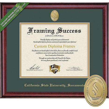 Sacramento State 85 X 11 Classic Diploma Frame Sac State
