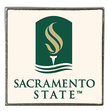 Sacramento State Square Lapel Pin Sac State