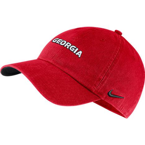 Nike University of Georgia Bulldogs Washed Heritage 86 Hat 175ad06e27c
