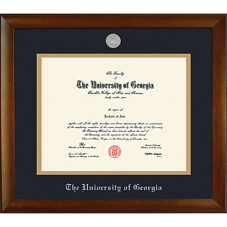 University of Georgia 11\'\' x 14\'\' Bamboo Diploma Frame | University ...