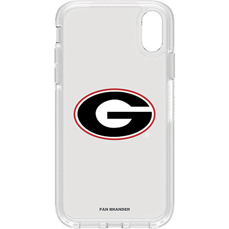 3d82129eea8 Product  Otterbox Clear Symmetry case w  Georgia Bulldogs Primary Mark  design - iPhone XR