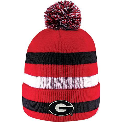 75b0a118569 Product  University of Georgia Knit Cuff Pom Hat