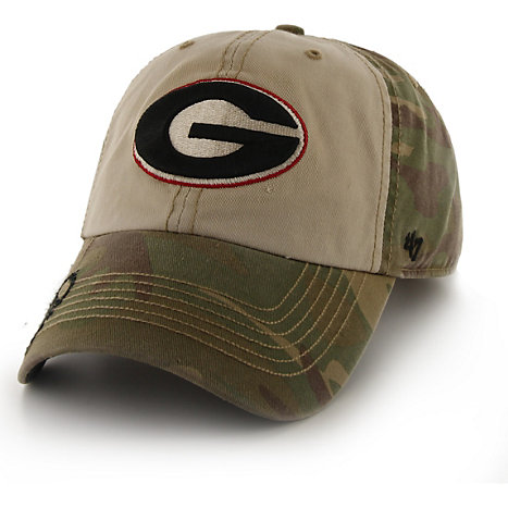 47 Brand University of Georgia Operation Hat Trick Gordie Howie Cap 48e6a586529