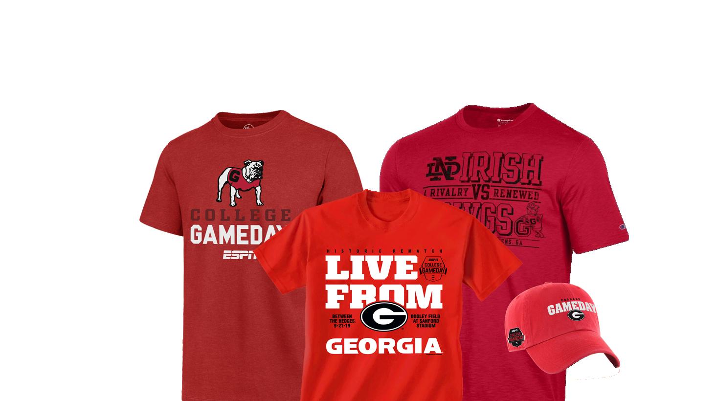 new arrivals 89df4 71384 Georgia Bulldogs Apparel | UGA Gear, Merchandise & Gifts