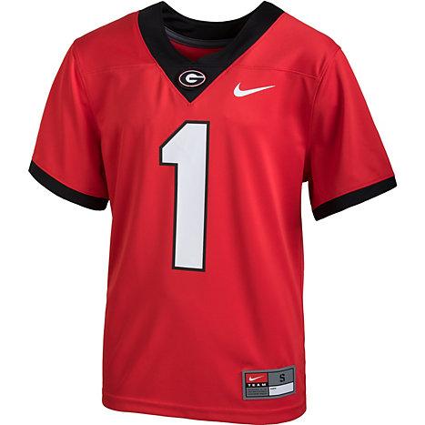 962fd928441 Nike University of Georgia Boys' Untouchable Football Jersey  1