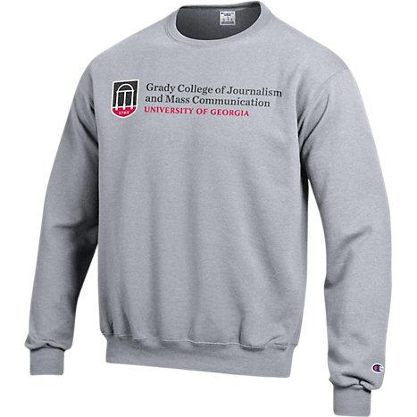 96283a9aa57 Champion Grady College of Journalism and Mass Communication - University of  Georgia Crewneck Sweatshirt