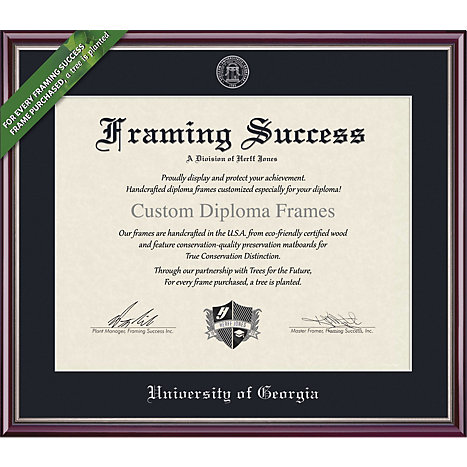 University of Georgia 11\'\' x 14\'\' Value Price Academic Diploma Frame ...