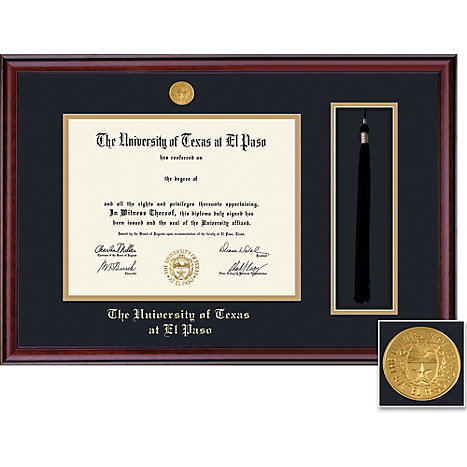 University of Texas El Paso 11\'\' x 14\'\' Classic Diploma Frame ...