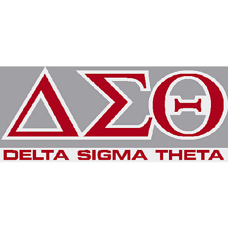 Delta Sigma Theta Decal | Albany State University