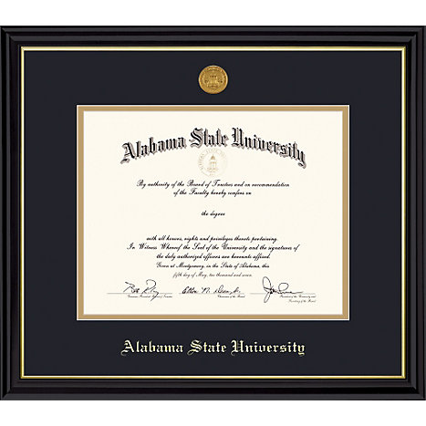 Alabama State University Diploma Frame | Alabama State University
