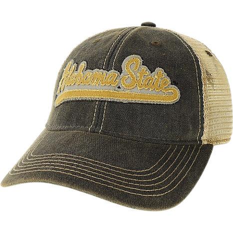 53e1fb79e0c Legacy Apparel Alabama State University Trucker Patch Cap
