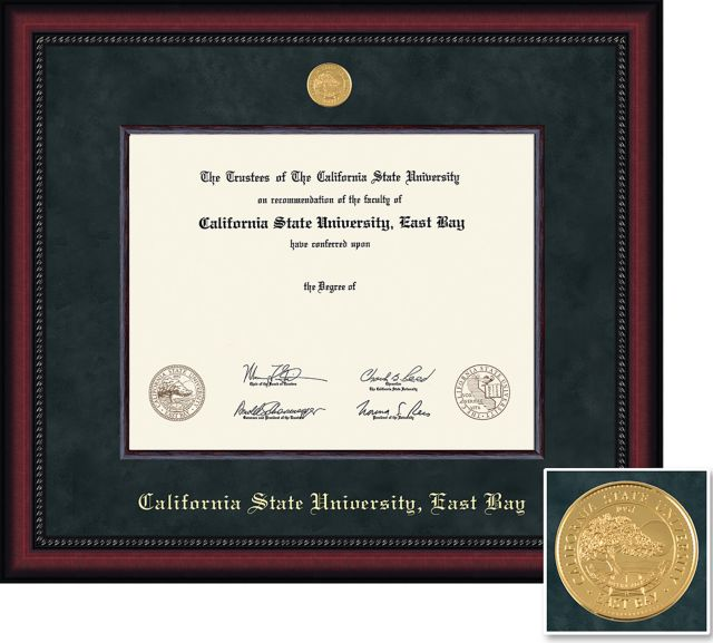 California State University East Bay 8 5 X 11 Diploma Frame California State University East Bay