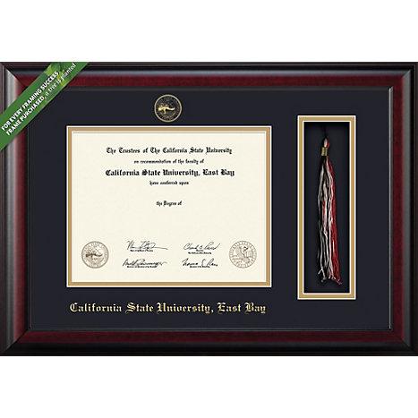 framing success csueb classic diploma frame with tassel holder - Diploma Frames With Tassel Holder