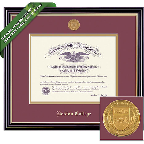 Boston College 14\'\' x 17\'\' Prestige Diploma Frame | Boston College