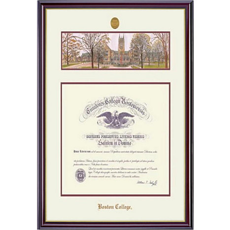 Boston College 15x19 Windsor Diploma Frame | Boston College
