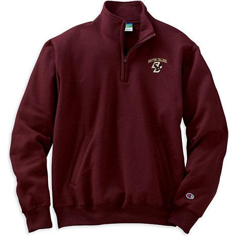 Boston College 1/4 Zip Fleece Pullover | Boston College