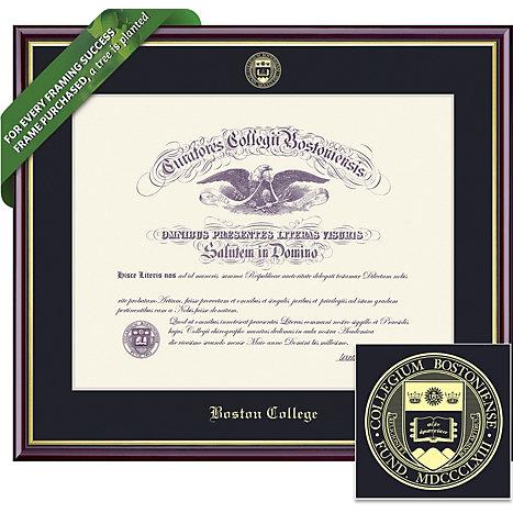 Boston College 14\'\' x 17\'\' Value Price Academic Diploma Frame ...