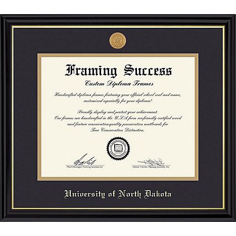 University of North Dakota 8.5 in. x 11 in. Coronado Diploma Frame ...
