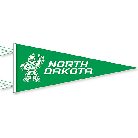 University of North Dakota Fighting Hawks 12\'\' x 30\'\' Pennant ...