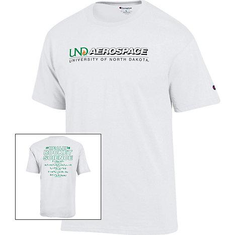 University of North Dakota Rocket Science T-Shirt   University of ...