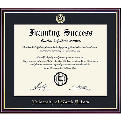 University of North Dakota 8.5\'\' x 11\'\' Value Price Academic Diploma ...