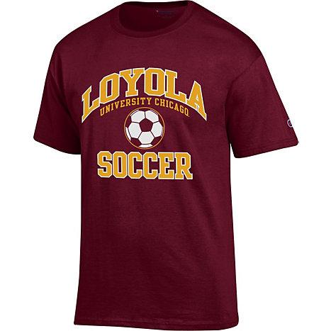 Loyola University Chicago Soccer T-Shirt | Loyola ...