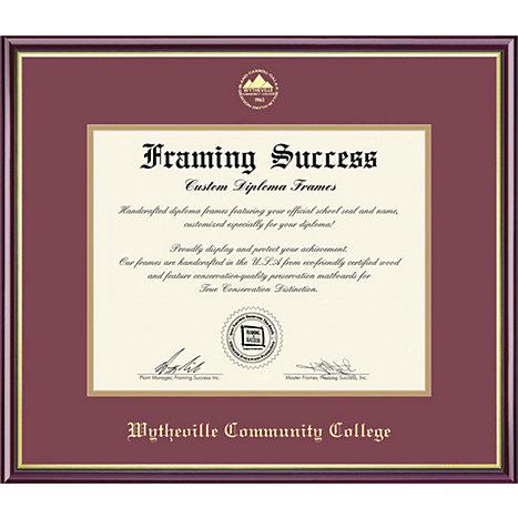 Wytheville Community College 7 x 9 Diploma Frame   Wytheville ...