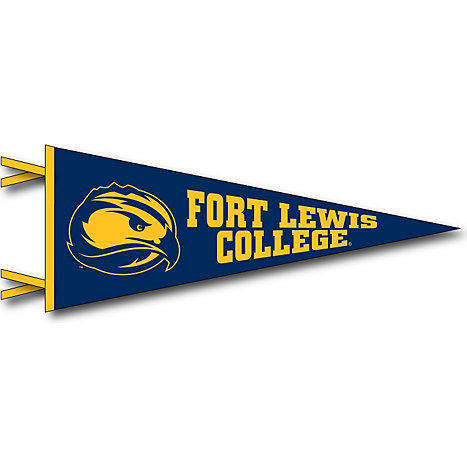Collegiate Pacific Fort Lewis College Skyhawks 12u0027u0027 X 30u0027u0027 Pennant