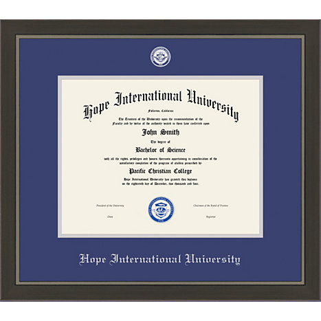 hope international university x metro diploma frame  framing success hope international university 8 5 x 11 metro diploma frame