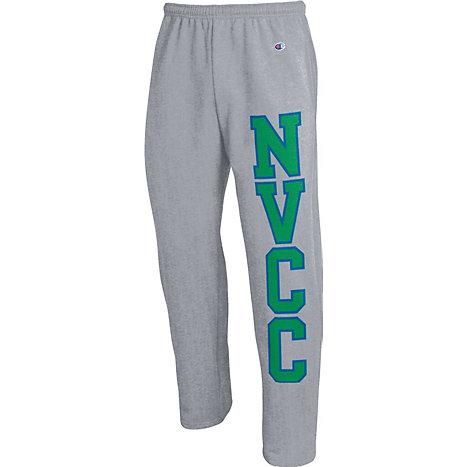 Naugatuck Valley Community College Open Bottom Sweatpants
