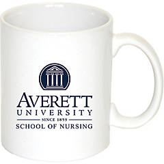 The Fanatic Group Personalized Averett University Double Walled Soft Touch Tumbler Navy Design-2