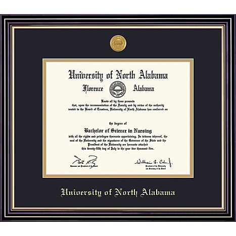 University of North Alabama 8\'\' x 10\'\' Prestige Diploma Frame ...