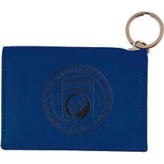 Blue Georgetown University Teardrop Keychain