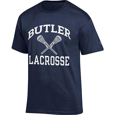 butler university lacrosse t shirt butler university