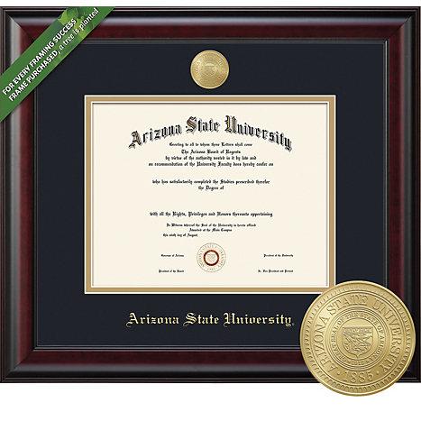 Arizona State University 8.5\'\' x 11\'\' Classic Diploma Frame ...