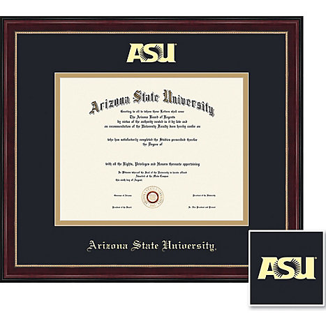 Arizona State University 85 X 11 Diploma Frame Arizona State