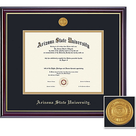 arizona state university windsor medallion doctoral diploma frame  framing success arizona state university windsor medallion doctoral diploma frame