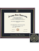 asu diploma frames arizona state university picture frames arizona state university 8 5 x 11 value price diploma frame
