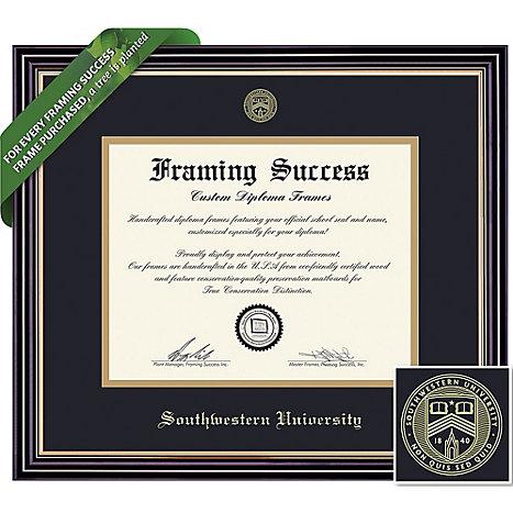 Southwestern University Diploma Frame 8.5 x 11 | Southwestern University