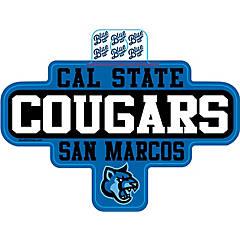 California Cal State University San Marcos CSUSM Cougars NCAA Car Keys College ID Badge Holder Lanyard Keychain Detachable Breakaway Snap Buckle w//Pouch