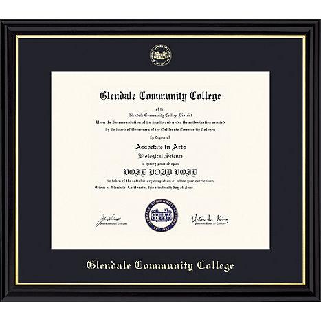 Glendale Community College Diploma Frame   Glendale Community College