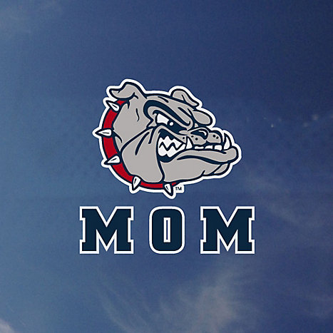 Gonzaga University Mom Bulldogs Decal Gonzaga University