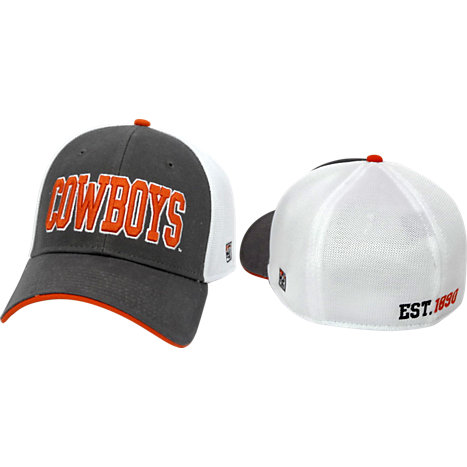 4c9e7ea2b6e Product  Oklahoma State University Cowboys Stretch Fitted Micro Mesh Cap