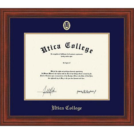 utica college millenium ma doc to pres diploma frame  framing success® utica college millenium ma doc 5 04 to pres diploma frame online only