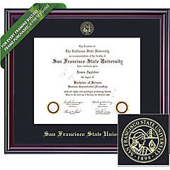 San Francisco State University Diploma Frames