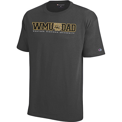 216f21f2b4b Champion Western Michigan University Broncos Dad T-Shirt