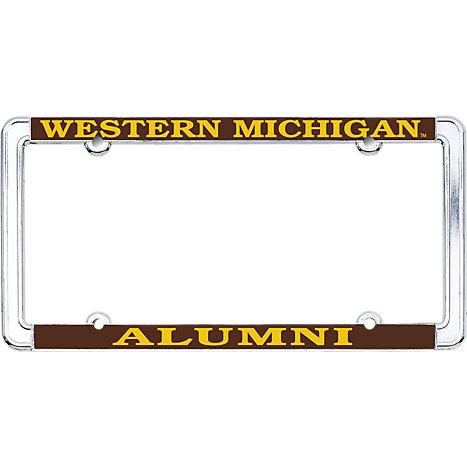 Western Michigan University Alumni Thin Dome License Plate Frame ...