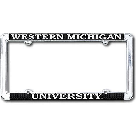 Western Michigan University License Plate Frame   Western Michigan ...