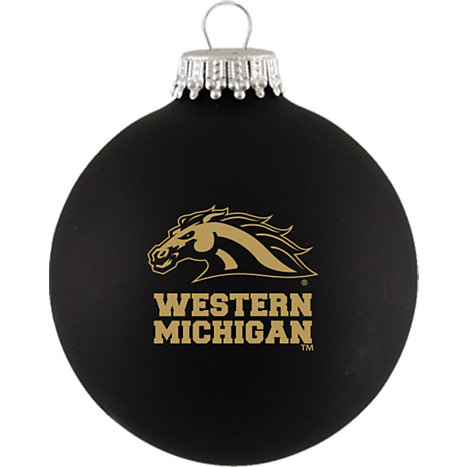 Product: Western Michigan University Ball Ornament